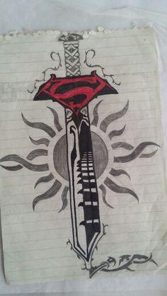 superman on pinterest superman man of steel and superman tattoos. Black Bedroom Furniture Sets. Home Design Ideas