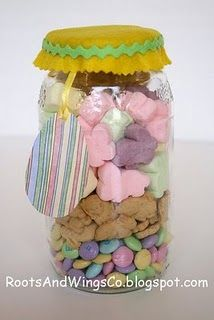 S'Mores in a Jar for Easter