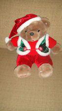 "12"" 2006 Dan Dee Snowflake Teddy Teddy Bear Christmas Stuffed Animal Plush"