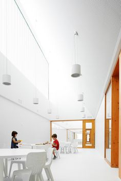 Nursery School in Berriozar - Architects: Javier Larraz with Iñigo Beguiristain and Iñaki Bergera
