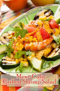 Fully Loaded Mexi-Cali meal has everything you could wish for, tender grilled shrimp, kernels of sweet corn, avocado and juicy watermelon. All these delectable flavors come together in a combination your tastebuds will savor . . .