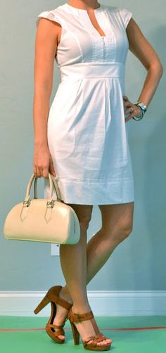 Outfit Posts: outfit post: little white dress
