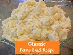 salad recipes, potato salads, classic potato