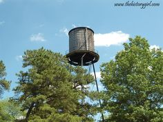 Water Tower @ Whitesbog Village, Browns Mills, NJ. Constructed in 1924.