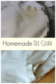 homemade oxi clean for armpit stains