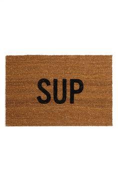 'SUP' Doormat.