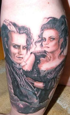 Tattoos pop culture on pinterest harry potter tattoos for Sweeney todd tattoo