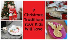 9 Christmas Traditions Your Kids Will Love! I especially love the idea of personal ornaments on their individual trees since we seem to collect a ton already!