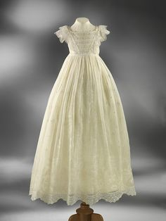 1850 Christening gown - beautiful!