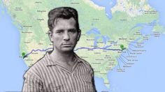 A Google Maps Ebook For Kerouac's On The Road