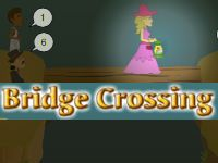 In our new Hooda Mobile Game, Bridge Crossing, help all the people cross the bridge before the light goes out! Different people walk at different speeds, and the bridge can hold at most 2 people at a time
