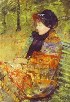 mari cassatt, 1880, autumn, lydia cassatt, marycassatt, paint, mary cassatt, artist, portrait