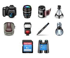 10 high-quality icons that are perfect for use in photography-related web projects and join us online for more www.720media.com