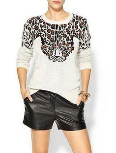 Mara Hoffman Leopard Pullover | Piperlime