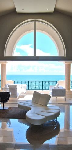 ocean views, living rooms, dream, living room windows, the view, modern interior design, pepe calderin, hous, modern interiors