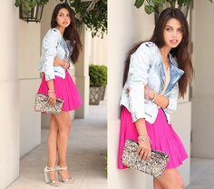 Think Pink (by Annabelle Fleur) http://lookbook.nu/look/3342759-Think-Pink