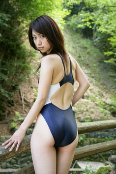 this pack contain beatiful japanese girls in swimsuit in the forrest ...