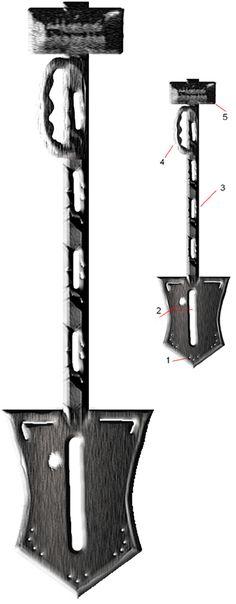 awesome sledge hammer shovel axe