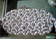 DIY carpet by cotton cloth