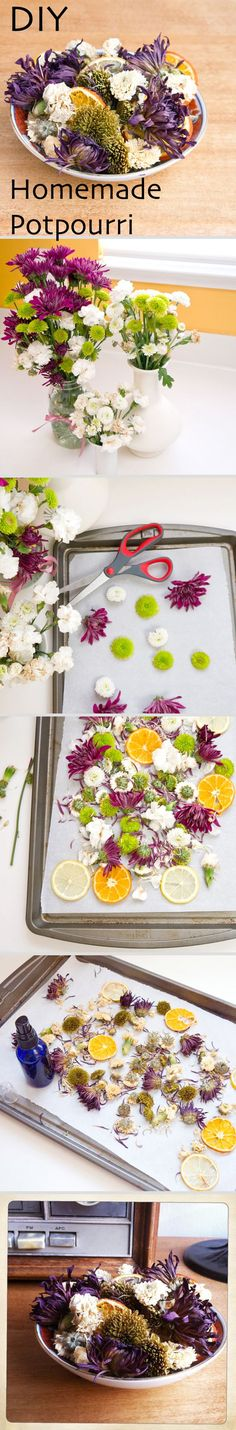 Great project for kids! homemade potpourri