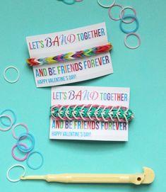 Let's Band Together Valentine Printable via @Kori Hiser Hiser Clark - Paper & Pigtails