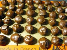 DIY   Easy Peanut Butter Balls ~ w/ step-by-step photos