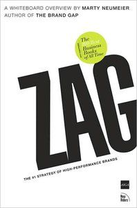 Zag by Marty Neumeier zag, sage book, design book, book steve, busi book, book media, number one, read list