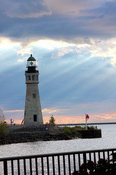 Lighthouse In The Sun - Buffalo, New York