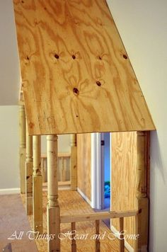 Building a closet play house