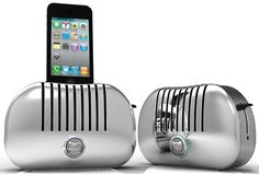Gavio TOAST! Docking Speaker for iPhone @thegadgeteer