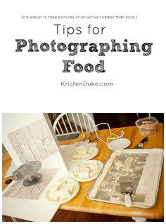 Tips for Photographing Food - great tips for food bloggers! by KristenDukePhotography.com