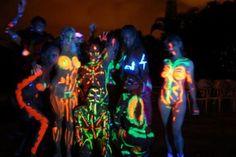 Oh yeah!! Black light party..  Gonna do it!@ light parti, black light