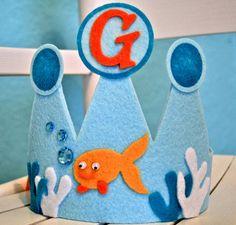 Goldfish King Crown