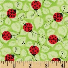 #Ladybugs on Green
