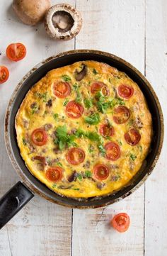 1. English Breakfast Frittata