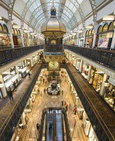 Queen Victoria Mall, Sydney Australia - #sydney #australia #tourism #travel #queenvictoria #mall #shopping - rossdujour.com
