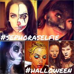 Because it's almost 10/31: Tag #Halloween & #SephoraSelfie on your best makeup looks from past costumes—we might feature you as inspiration!