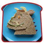 Gruffalo sandwich!