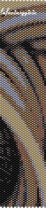 I peyote di Lufantasygioie: Schema peyote pari:intrecciandomi