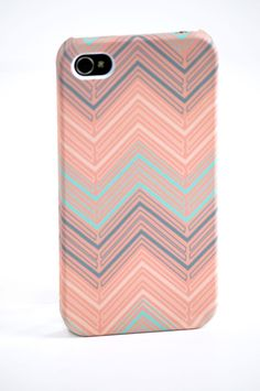 Chevron iPhone Case  by The Velvet Owl Design Studio