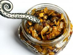 roasted leekconfit. i would like to make this, and then use it on a pizza.