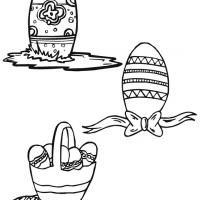 Give a like for free printable Easter egg stencils.