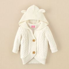 cable-knit cardigan from The Children's Place $29.95