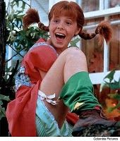 Pippi Longstocking is comin' into your world...