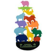 Balancing Animal eraser set. I want!