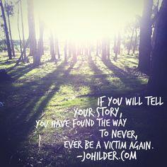 Tell your story. johilder.com