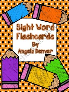 Complete Set of Sight Word Flashcards from Angie's Hangout on TeachersNotebook.com -  (25 pages)  - This is a complete set of Sight Word Flashcards Pre-Primer, Primer, First Grade, Second Grade, and Third Grade Sight Words. Includes Blank sets for your own words.