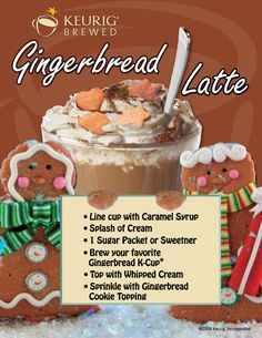 Keurig Gingerbread Latte Recipe