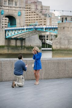amazing proposal in london. this is a dream.