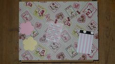 Baby room notes/pictures board